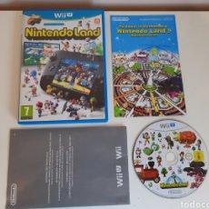 Nintendo Wii U: NINTENDO LAND NINTENDO WII. Lote 221319198