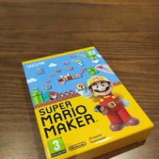 Nintendo Wii U: SUPER MARIO MAKER WII U EDICION ESPECIAL CON LIBRO. Lote 221442703
