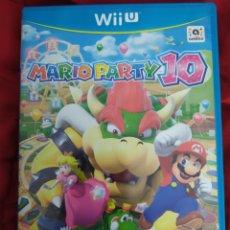 Nintendo Wii U: MARIO PARTY 10 WII U. Lote 221498840