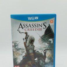 Nintendo Wii U: ASSASSINS CREED III NINTENDO WII U. Lote 254806370