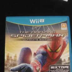 Nintendo Wii U: THE AMAZING SPIDER-MAN ULTIMATE EDITION WII U, NINTENDO WII U, PAL ESP.. Lote 221972671