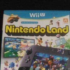 Nintendo Wii U: NINTENDOLAND WII U, NINTENDO WII U, PAL ESP. Lote 221973482