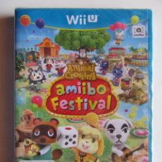 Nintendo Wii U: ANIMAL CROSSING AMIIBO FESTIVAL NINTENDO WIIU PRECINTADO. Lote 223988771