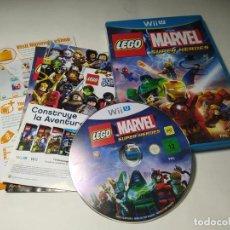 Videojogos e Consolas: LEGO MARVEL SUPER HEROES ( NINTENDO WII U - PAL - ESP). Lote 228624780