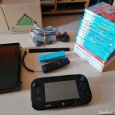 Nintendo Wii U: NINTENDO WII U + LOTE DE 17 JUEGOS. Lote 228947750