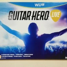 Nintendo Wii U: V- GUITAR HERO LIVE WII U MUY BUEN ESTADO. Lote 229575890