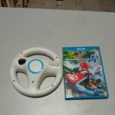 Nintendo Wii U: MARIO KART 8 PARA WII U + VOLANTE. Lote 229903525