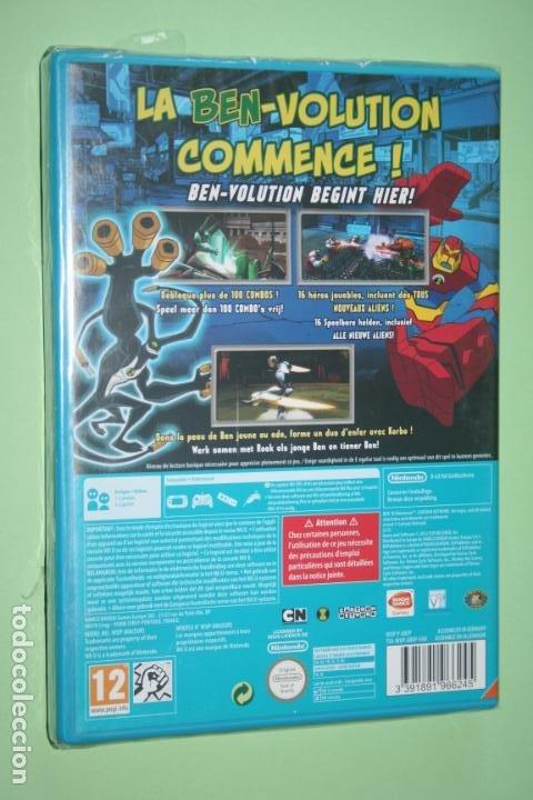 Nintendo Wii U: BEN 10 OMNIVERSE * VIDEOJUEGO ANIMACIÓN INFANTIL PARA CONSOLA NINTENDO WII U * PRECINTADO (FRANCÉS) - Foto 2 - 230513535