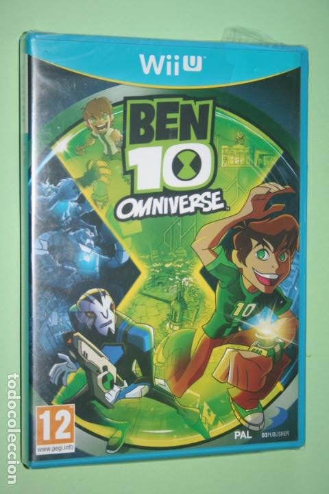BEN 10 OMNIVERSE * VIDEOJUEGO ANIMACIÓN INFANTIL PARA CONSOLA NINTENDO WII U * PRECINTADO (FRANCÉS) (Juguetes - Videojuegos y Consolas - Nintendo - Wii U)