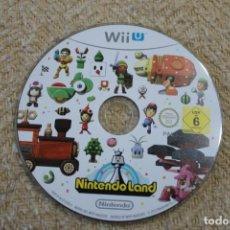 Nintendo Wii U: JUEGO WII U NINTENDO LAND NINTENDOLAND SOLO CD. Lote 231072205