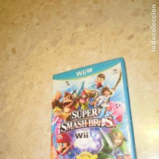 Nintendo Wii U: JUEGO NINTENDO WII U SUPER SMASH BROS. Lote 231740045