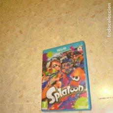 Nintendo Wii U: JUEGO NINTENDO WII U SPLATOON. Lote 231740765