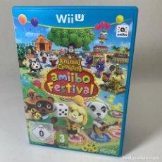 Nintendo Wii U: JUEGO WII U ANIMAL CROSSING - AMIIBO FESTIVAL. Lote 233490745