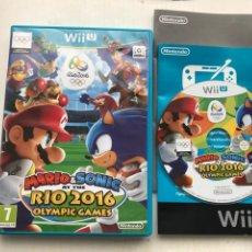 Nintendo Wii U: MARIO & SONIC AT THE RIO 2016 OLYMPIC GAMES JUEGO OLIMPICOS NINTENDO WIIU WII U KREATEN. Lote 234041765