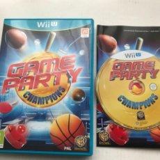 Nintendo Wii U: GAME PARTY CHAMPIONS NINTENDO WIIU WII-U KREATEN. Lote 234044455