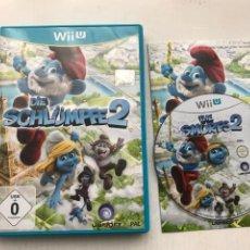 Nintendo Wii U: DIE SCHLÜMPFEE 2 THE SMURFS LOS PITUFOS NINTENDO WIIU WII-U KREATEN. Lote 234045005