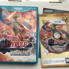 Nintendo Wii U: HYRULE WARRIORS 1 NINTENDO WIIU WII-U KREATEN ZELDA LINK. Lote 234046020
