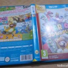 Nintendo Wii U: SUPER MARIO 3D WORLD NINTENDO WIIU WII-U PAL ESP. Lote 236067035