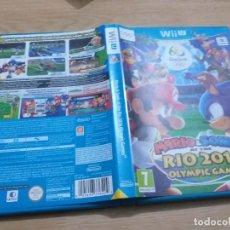 Nintendo Wii U: MARIO6SONIC RIO 2016 OLIMPIC GAMES WII U PAL ESP. Lote 236067140