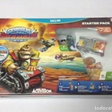 Nintendo Wii U: SKYLANDERS SUPERCHARGERS STARTER PACK . DONKEY KONG . AMIIBO. Lote 236363210