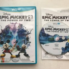 Nintendo Wii U: EPIC MICKEY 2 THE POWER OF TWO DISNEY NINTENDO WIIU WII U WII-U KREATEN. Lote 236599430