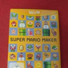 Nintendo Wii U: SÚPER MARIO MAKER. Lote 238582890