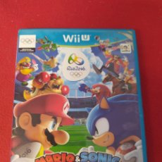 Nintendo Wii U: MARIO & SONIC AT THE RÍO 2016 OLYMPIC GAMES. Lote 238583260