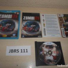 Nintendo Wii U: WII U - ZOMBI U , PAL ESPAÑOL , COMPLETO. Lote 239992690