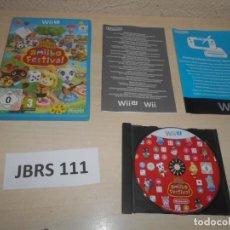 Nintendo Wii U: WII U - ANIMAL CROSSING AMIIBO FESTIVAL , PAL EUROPEO , COMPLETO. Lote 239992900