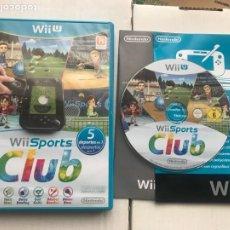 Videogiochi e Consoli: WII SPORTS CLUB 5 DEPORTES EN UNO NINTENDO WIIU WII U KREATEN. Lote 240582715