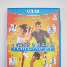 Nintendo Wii U: NINTENDO WII U - YOUR SHAPE FITNESS EVOLVED 2013. Lote 240879820