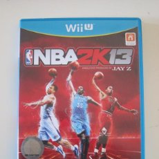 Nintendo Wii U: NINTENDO WII U - NBA 2K13 / 2K 13. Lote 240880395