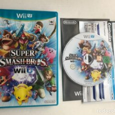 Nintendo Wii U: SUPER SMASH BROS FOR WIIU WII U KREATEN. Lote 261031380
