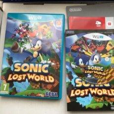 Videogiochi e Consoli: SONIC LOST WORLD SEGA NINTENDO WIIU WII U KREATEN. Lote 242847685