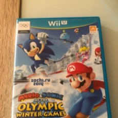 Nintendo Wii U: MARIO Y SONIC OLIMPIADAS INVIERNO 2014 WIIU WII U. Lote 242943920