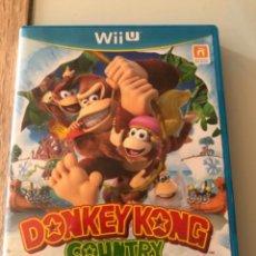 Nintendo Wii U: DONKEY KONG COUNTRY TROPICAL FREEZE WIIU WII U. Lote 242944610