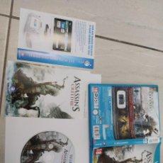 Nintendo Wii U: ASSASSINS CREED 3 III NINTENDO WIIU COMPLETO PAL-ESPAÑA ORIGINAL 100%. Lote 246203615