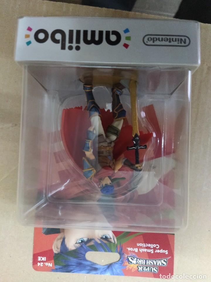AMIIBO IKE 24 NINTENDO WIIU 3DS (Juguetes - Videojuegos y Consolas - Nintendo - Wii U)
