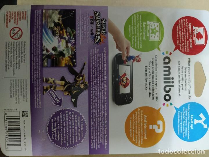 Nintendo Wii U: AMIIBO DARK PITT SMASH BROS 39 NEW , NUEVO NINTENDO WIIU 3DS - Foto 2 - 246216940