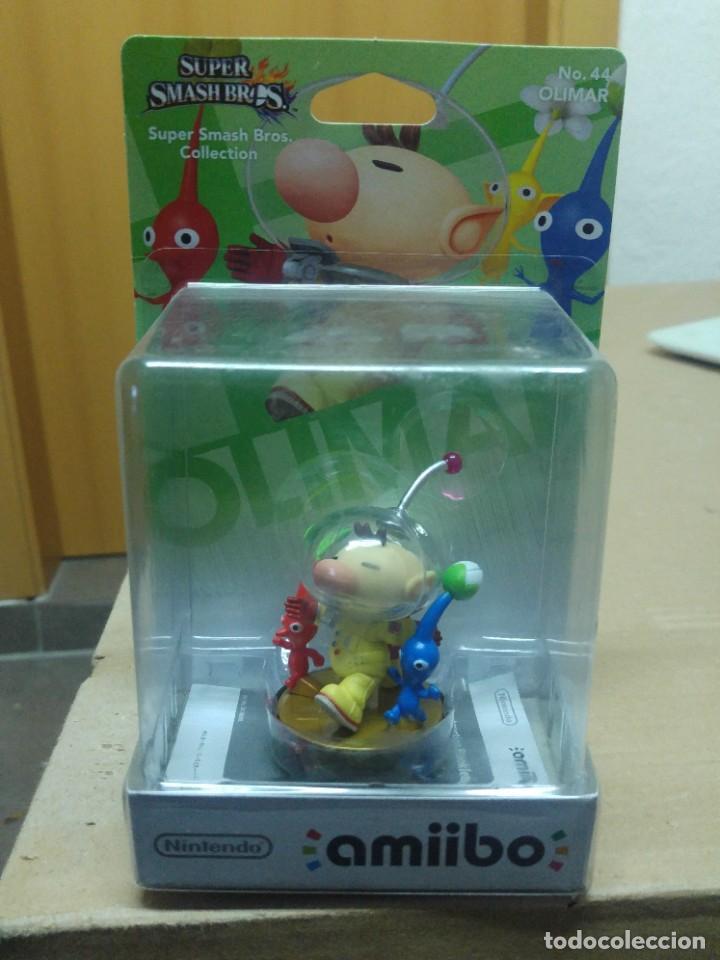 AMIIBO 44 OLIMAR NINTENDO WII U 3DS NUEVO (Juguetes - Videojuegos y Consolas - Nintendo - Wii U)