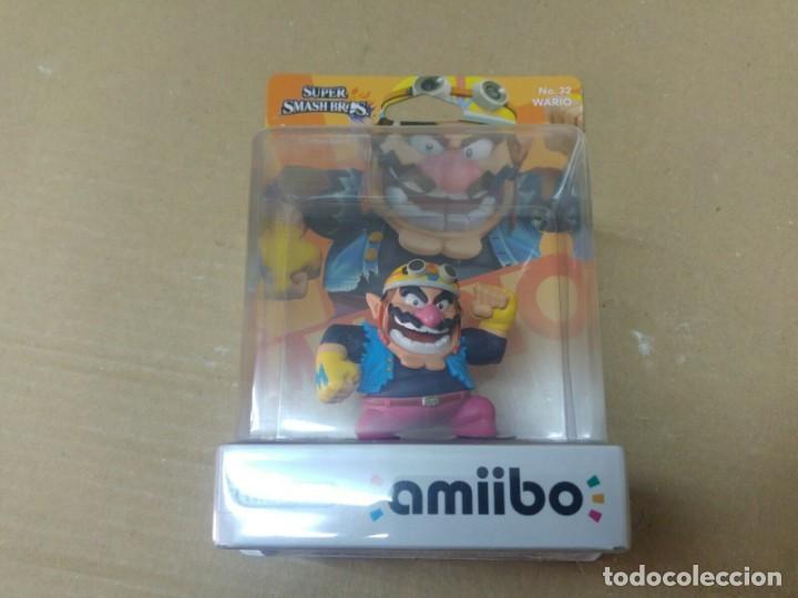 AMIIBO WARIO SMASH BROS 32 NEW , NUEVO NINTENDO WIIU 3DS (Juguetes - Videojuegos y Consolas - Nintendo - Wii U)