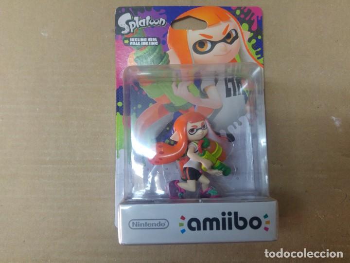 AMIIBO SPLATOON INKLING GIRL NEW , NUEVO NINTENDO WIIU 3DS (Juguetes - Videojuegos y Consolas - Nintendo - Wii U)