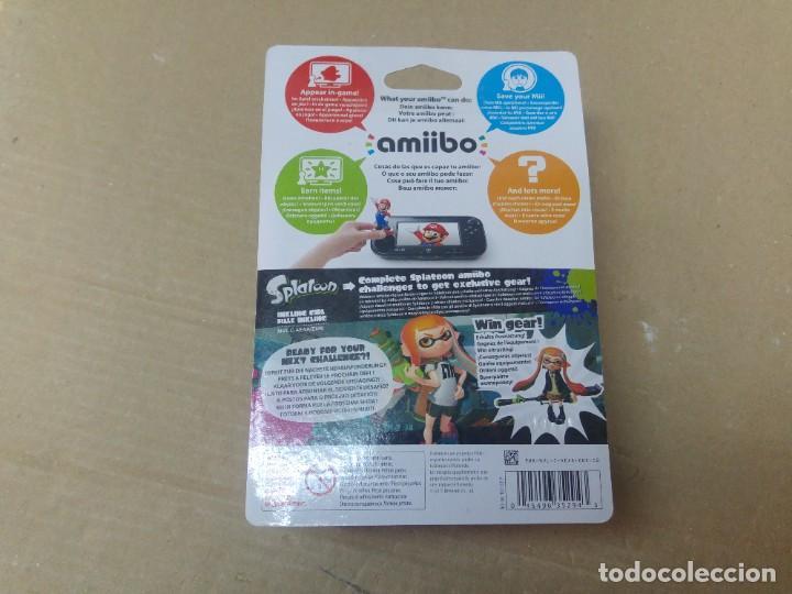 Nintendo Wii U: AMIIBO SPLATOON INKLING GIRL NEW , NUEVO NINTENDO WIIU 3DS - Foto 2 - 246218580