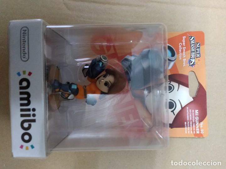 AMIIBO MII GUNNER 50 NEW , NUEVO NINTENDO WIIU 3DS (Juguetes - Videojuegos y Consolas - Nintendo - Wii U)