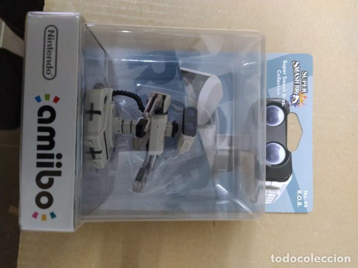 AMIIBO R.O.B. 46 NEW , NUEVO NINTENDO WIIU 3DS (Juguetes - Videojuegos y Consolas - Nintendo - Wii U)