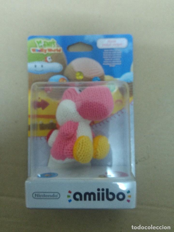 AMIIBO YOSHI LANA PINK ROSA WOOLY WORLD NINTENDO WII U (Juguetes - Videojuegos y Consolas - Nintendo - Wii U)