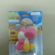Nintendo Wii U: AMIIBO YOSHI LANA PINK ROSA WOOLY WORLD NINTENDO WII U. Lote 247343945