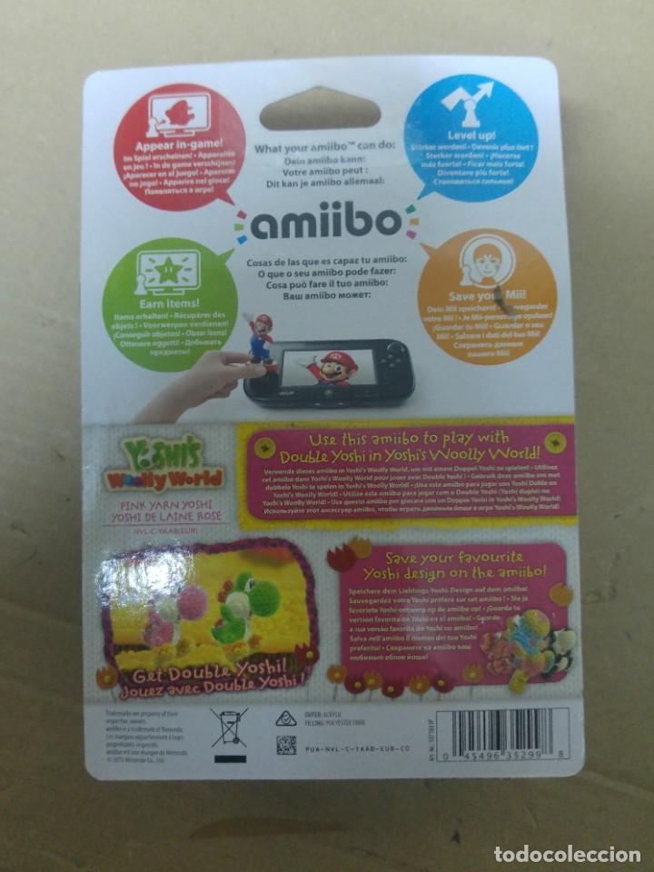 Nintendo Wii U: AMIIBO YOSHI LANA PINK ROSA WOOLY WORLD NINTENDO WII U - Foto 2 - 247343945