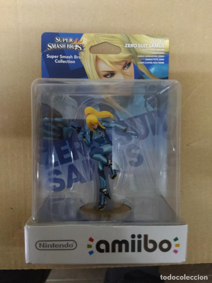 AMIIBO ZERO SUIT SAMUS 40 NEW , NUEVO NINTENDO WIIU 3DS (Juguetes - Videojuegos y Consolas - Nintendo - Wii U)