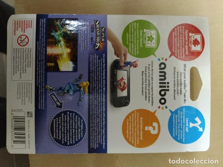 Nintendo Wii U: AMIIBO ZERO SUIT SAMUS 40 NEW , NUEVO NINTENDO WIIU 3DS - Foto 2 - 247558940